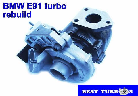 BMW E91 turbo rebuild
