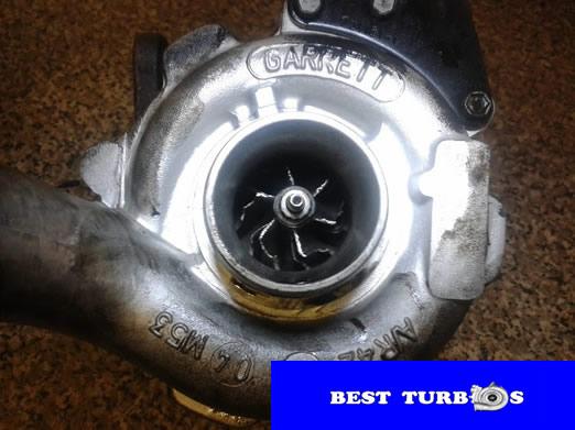 garrett turbo rotor condition