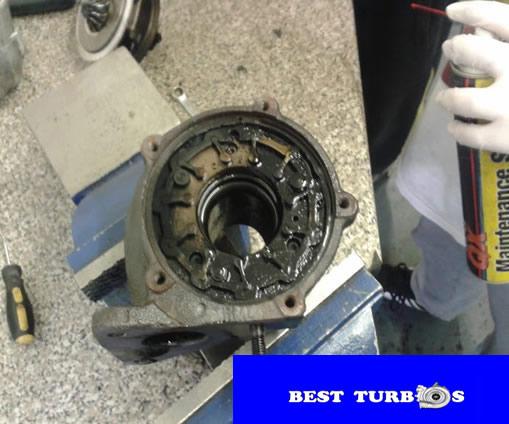 turbo vane cleaning pics
