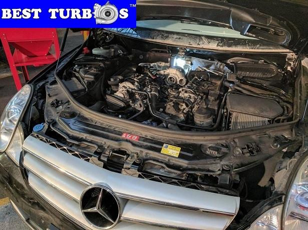 Mercedes v6 320 cdi turbo problem limp mode actuator fault no power