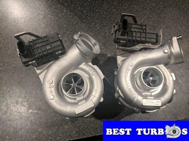 bmw 330d 530d 730d hybrid turbocharger more power bigger